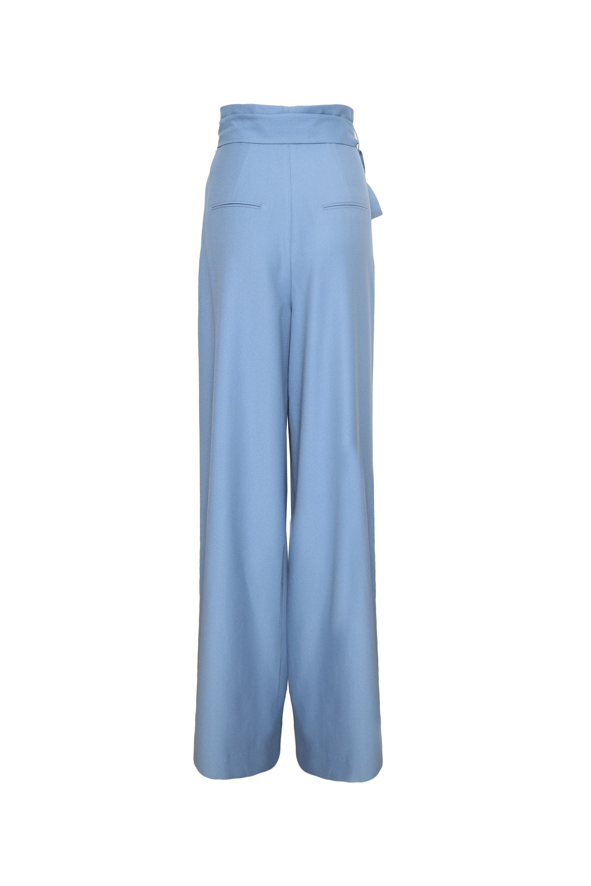 Wide Leg Oversized Tie Knot Trouser
