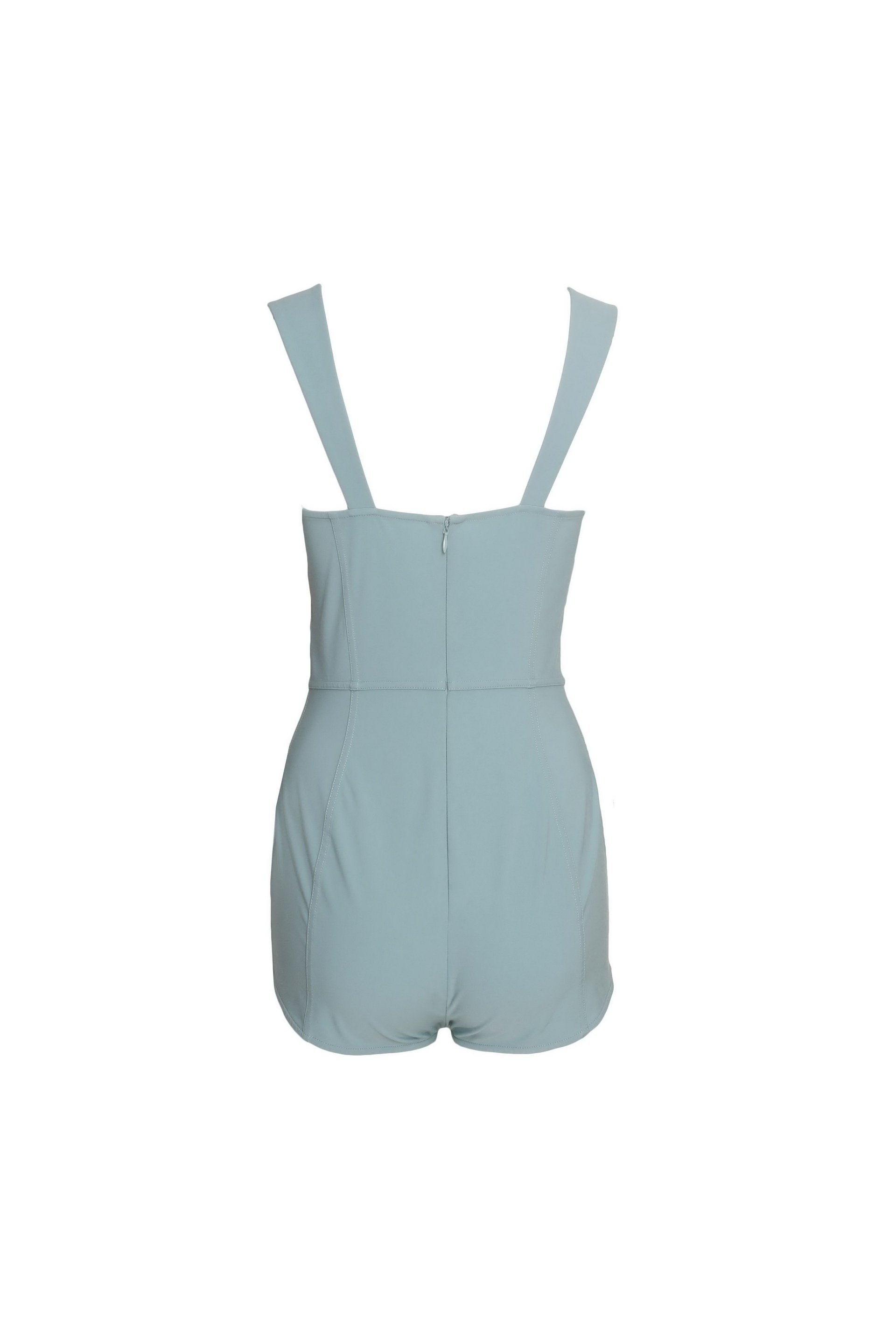 Sleeveless Bodycon Romper