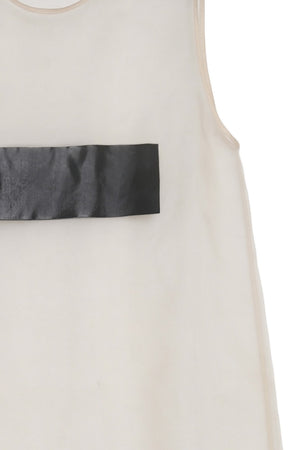 Incognito Sheer Silk Slip Dress