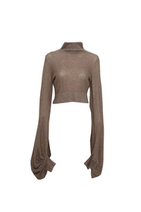 Cashmere turtle neck top
