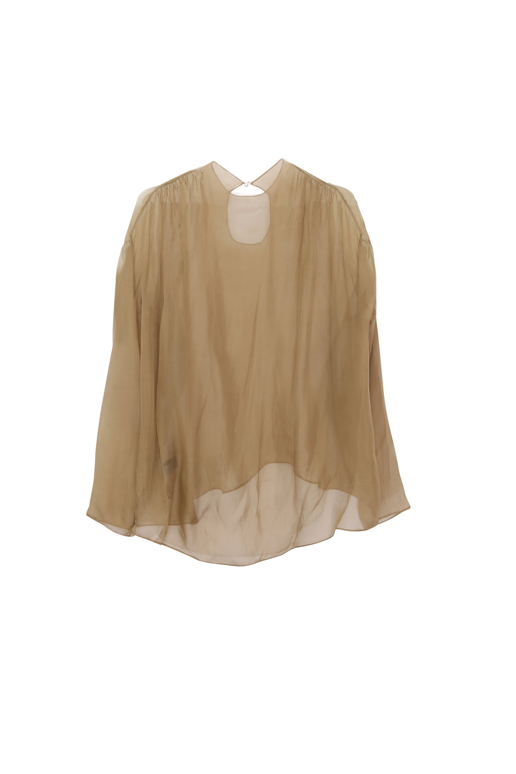 Silk blouse chiffon top