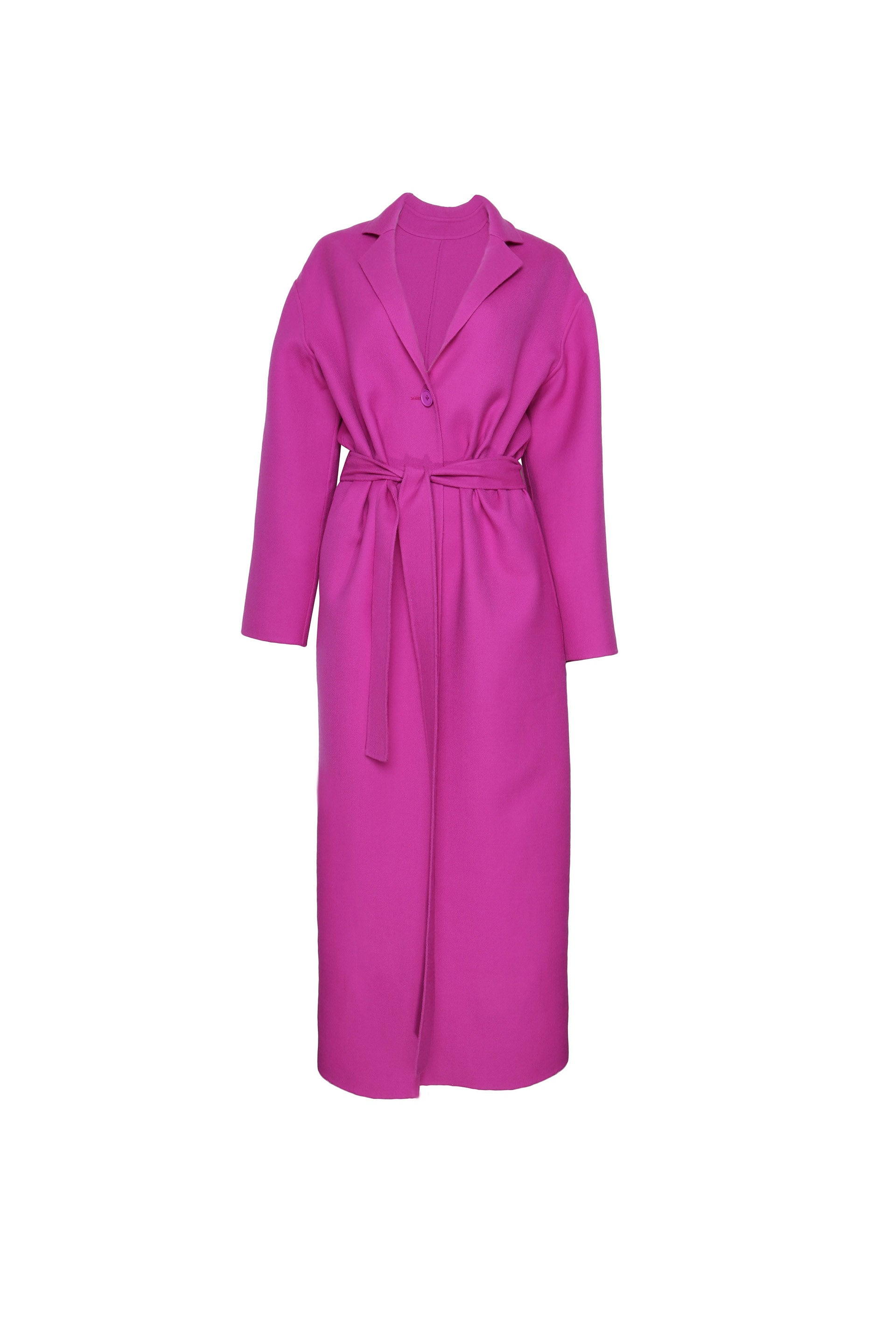 Relaxed Wool Robe Coat