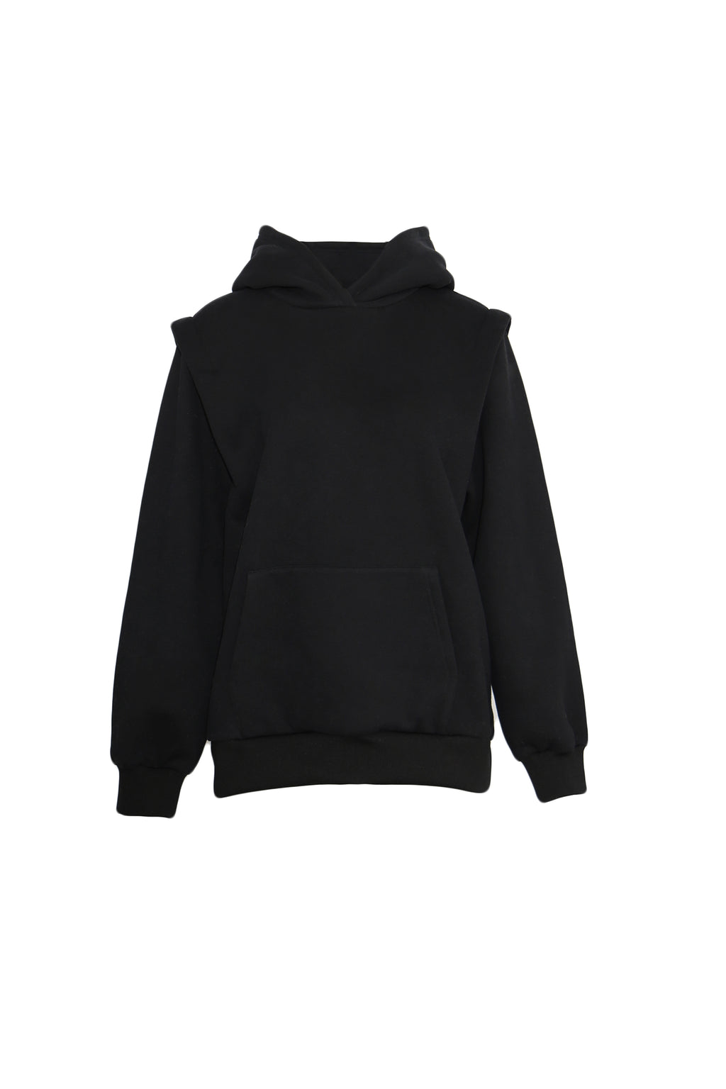 Embroidered  cotton-terry  hoodie