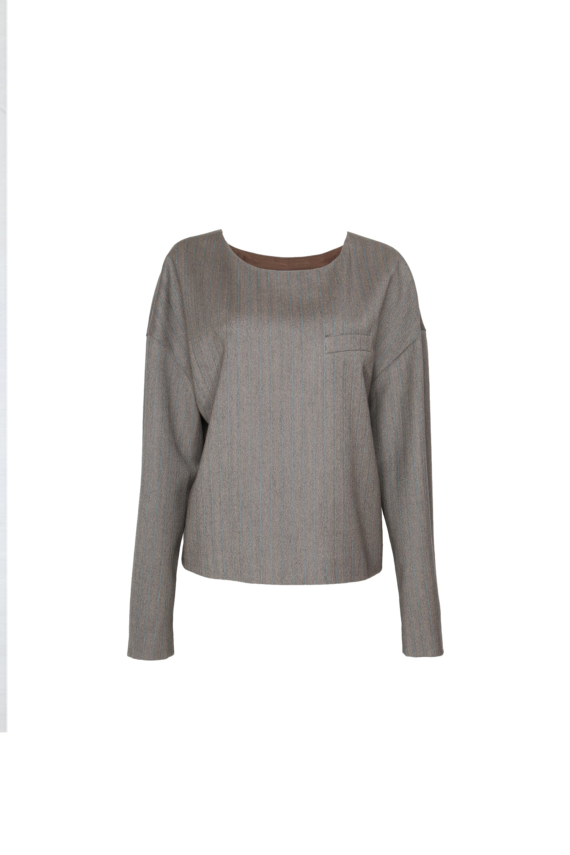 Relaxed Wool Top