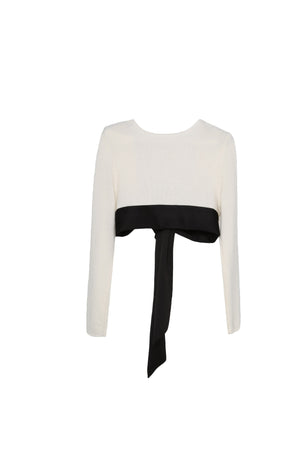 Long Sleeve Crop blouse