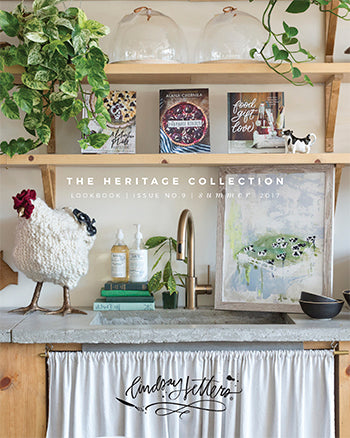 2017 Heritage Collection Lookbook Cover by Lindsay Letters Co