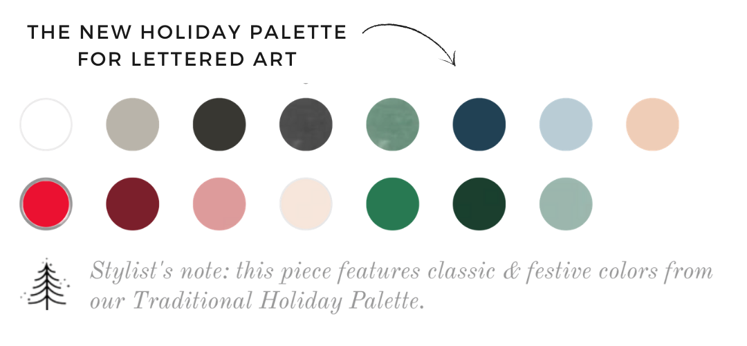 The New Christmas Color Palette