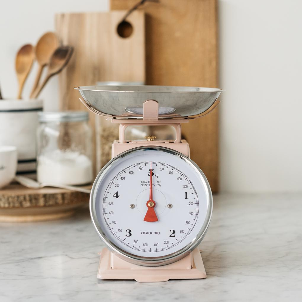 Pink Kitchen Scale