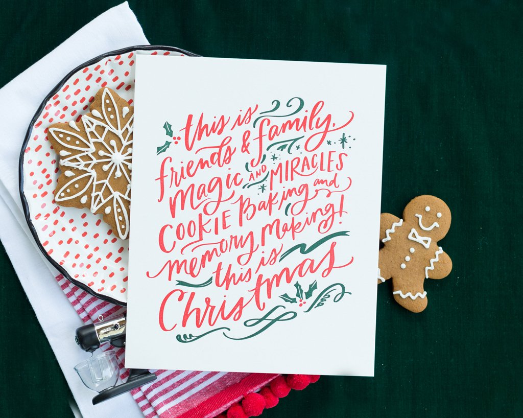 This is Christmas Print