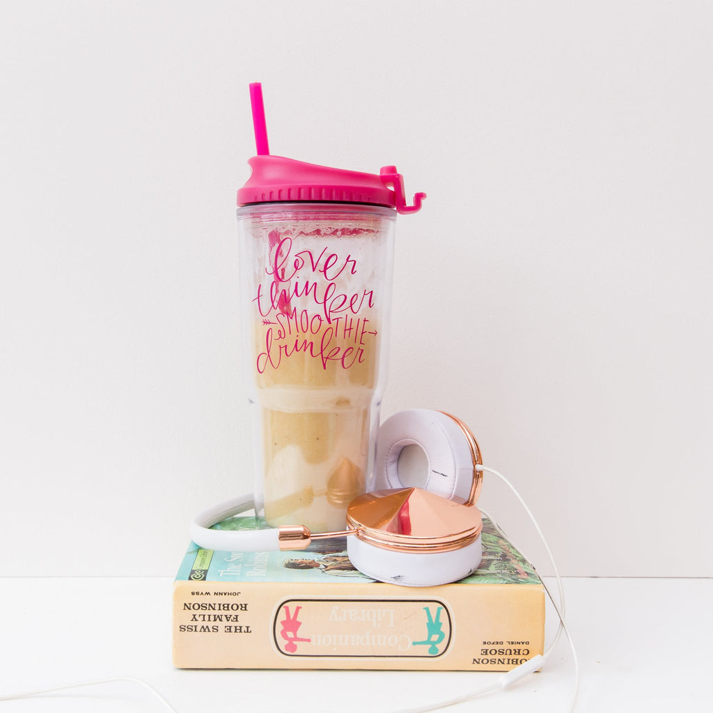 Smoothie Drinker Tumbler