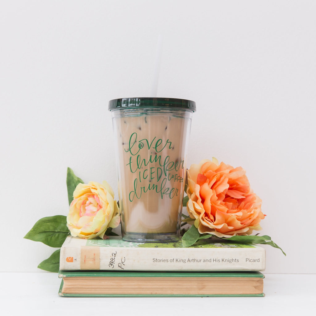 Iced Coffee Drinker Tumbler