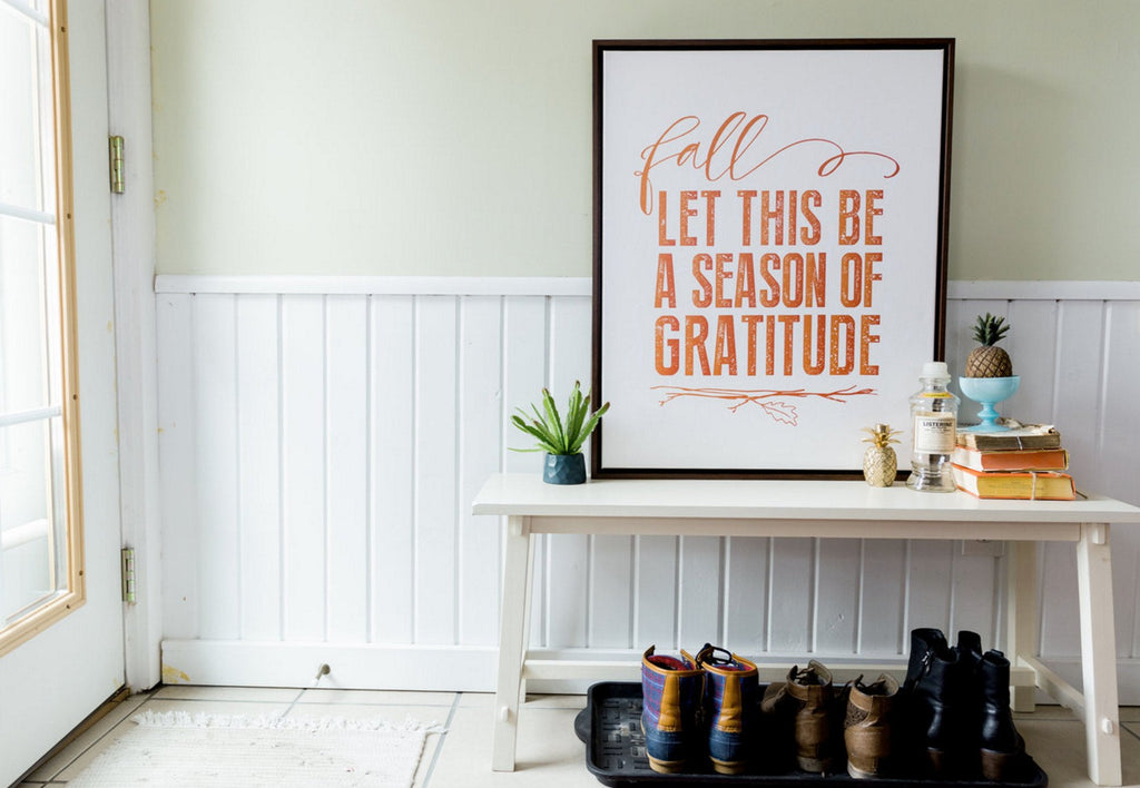 Season of Gratitude Canvas