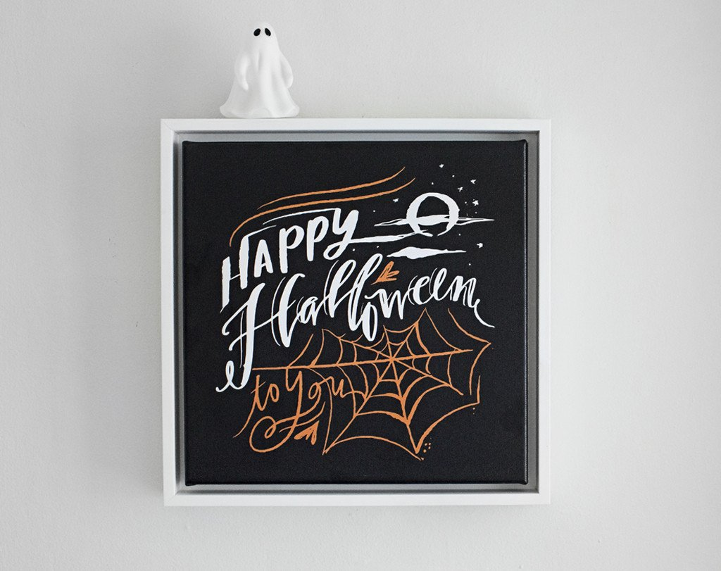 Happy Halloween Canvas