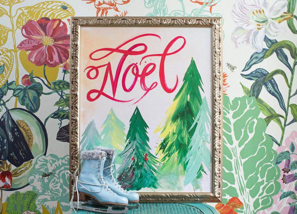 Noel Forest Canvas