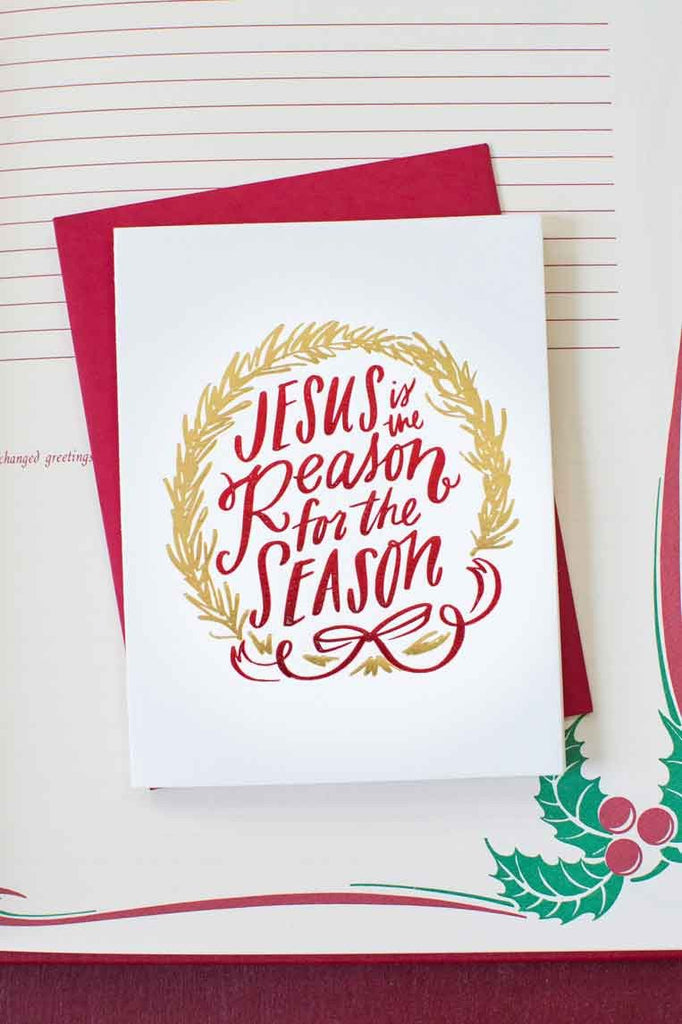 Jesus is the Reason Card (& Boxed Set)