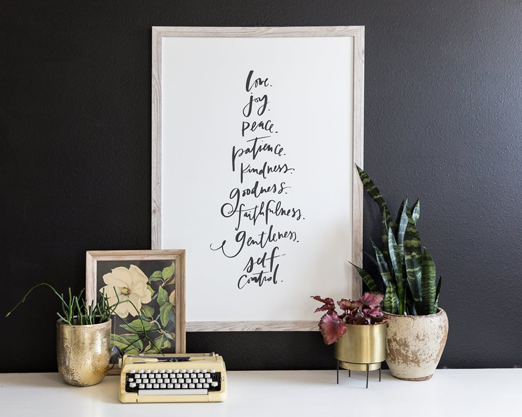 Fruit of the Spirit Canvas
