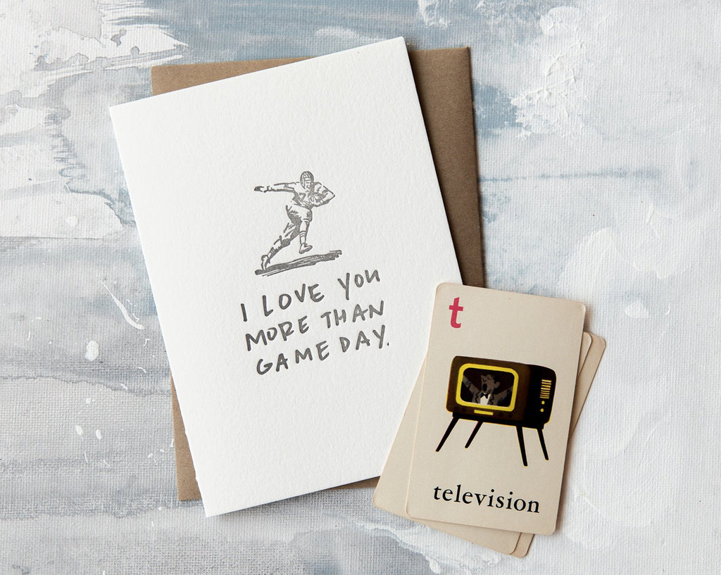 Game Day Love Card