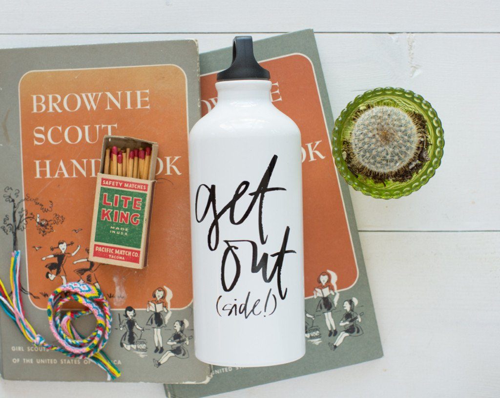 Get Out(side!) Trek Water Bottle
