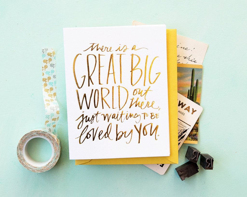 Great Big World Card