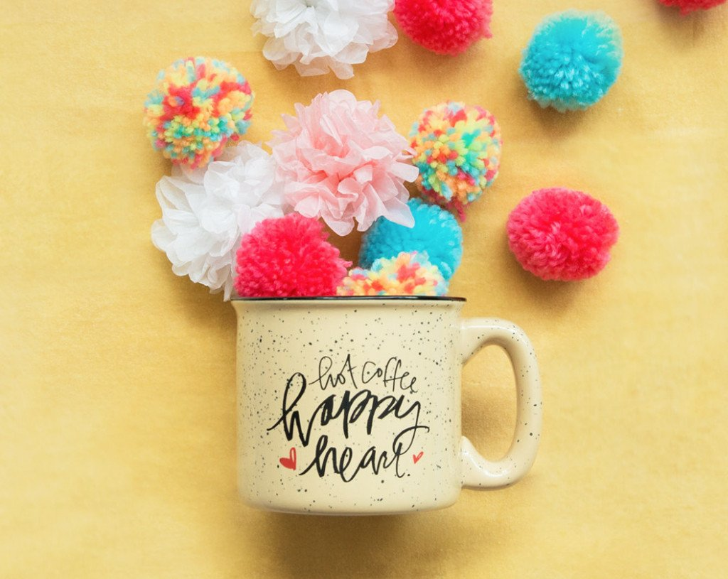 Happy Heart Campfire Mug