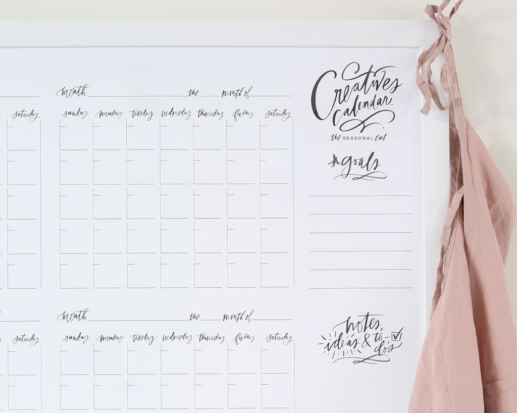 Seasonal Creatives Calendar