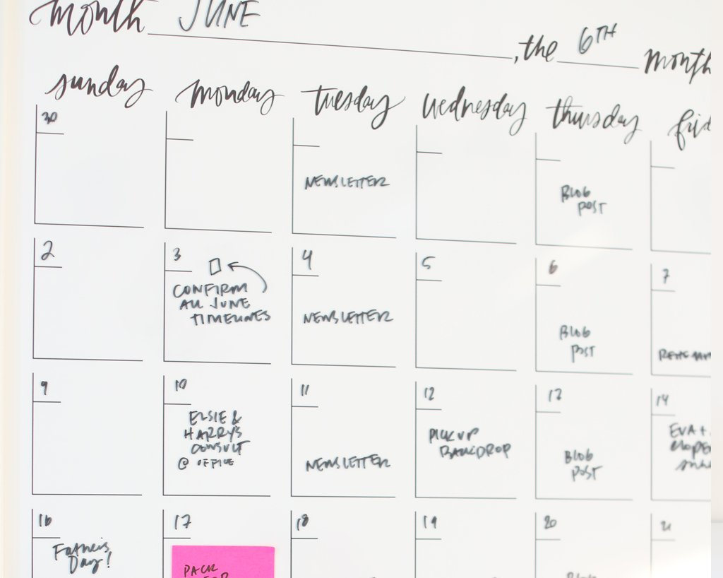 Monthly Vertical Creatives Calendar®