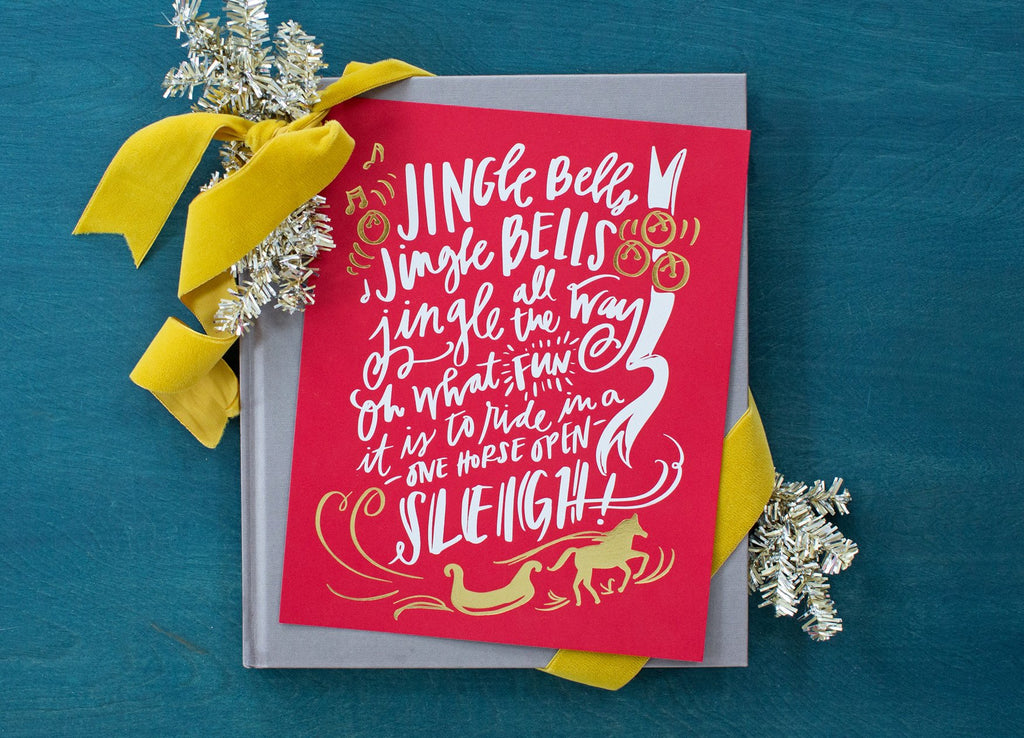 No. 141, Jingle Bells Print
