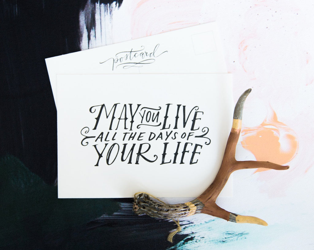 May You Live Postcard Set