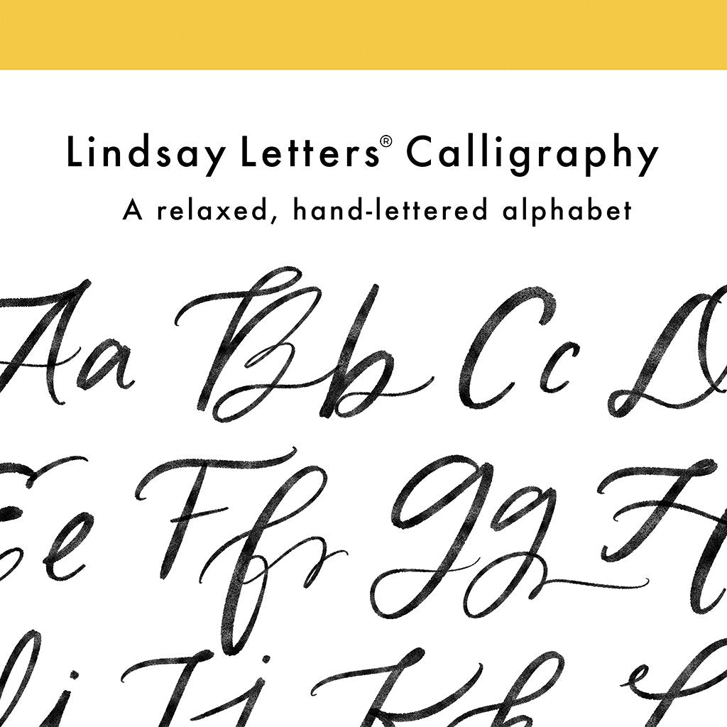 The Lindsay Letters® Alphabet!