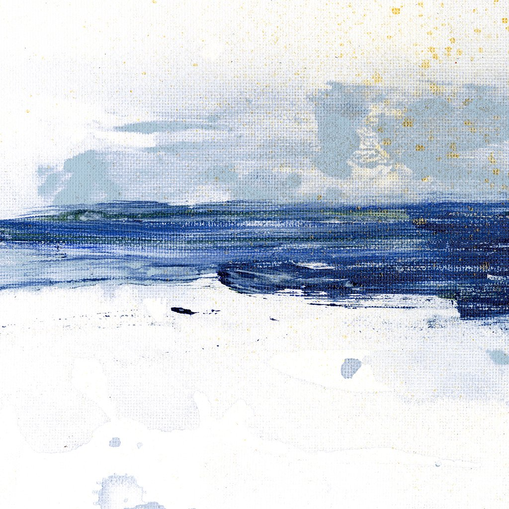 Blue Horizon Abstract