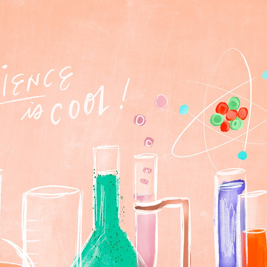 Science Is Cool, Chalky Peach