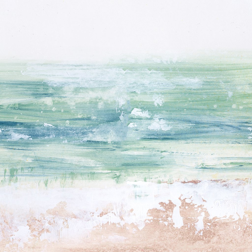 Sea Glass Coast Abstract