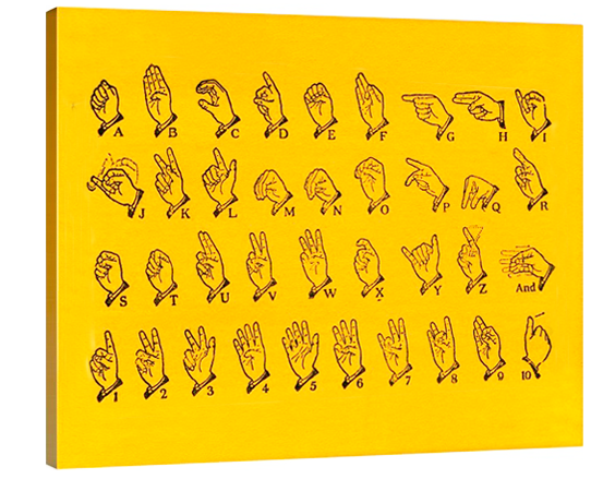 American Sign Language Alphabet