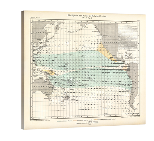 "Pacific ""Frequency of Winds"" Chart"