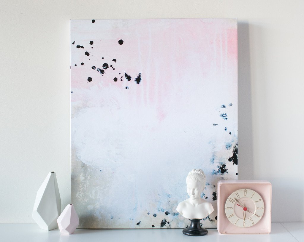Pop Fizz Abstract Canvas