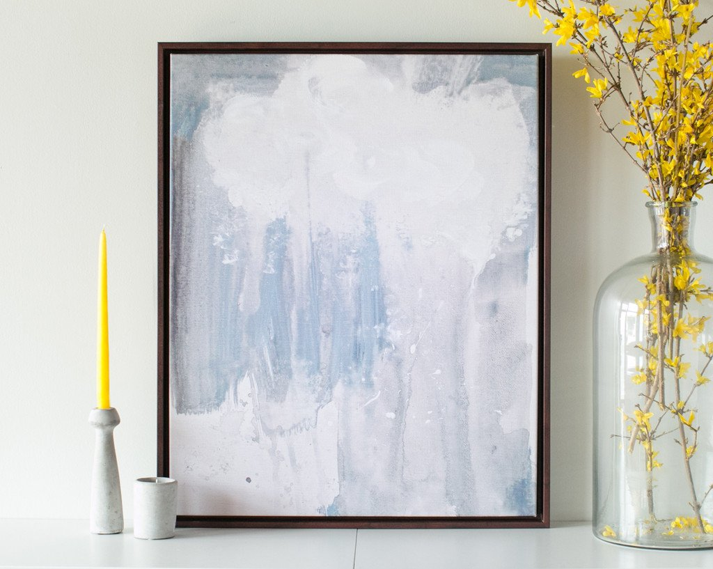 Raincloud Abstract Canvas