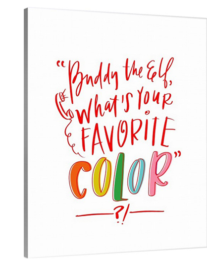 Buddy - Favorite Color