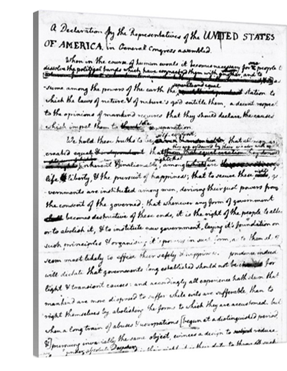 Declaration of Independence Draft