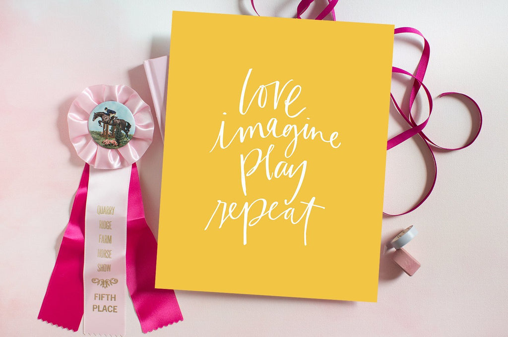 Love, Imagine, Play, Repeat