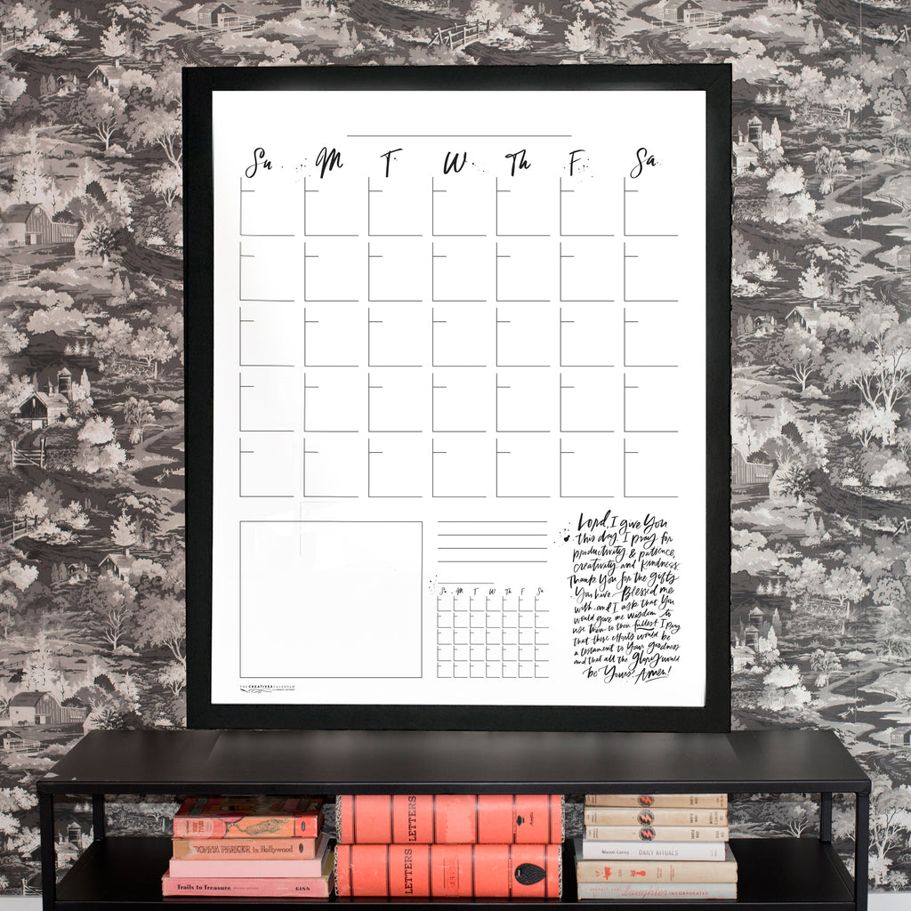 Now & Next Vertical Creatives Calendar®