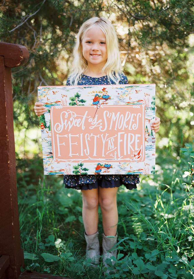 Sweet As S'mores Canvas