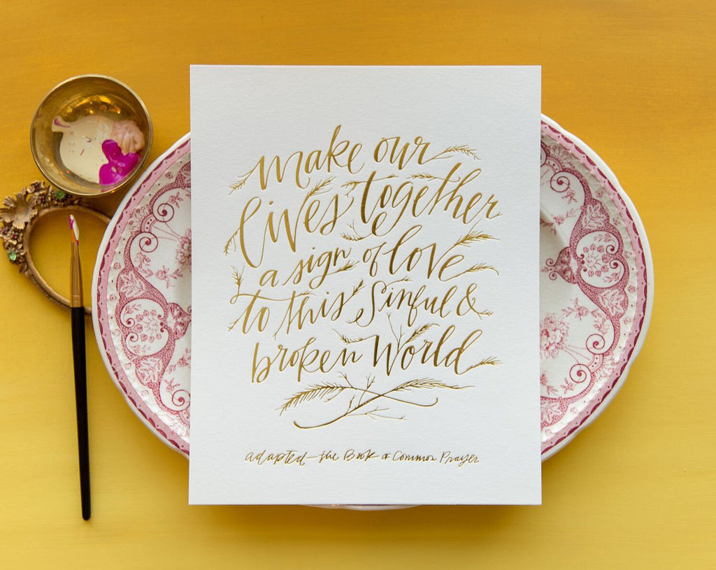 Our Lives Together Print