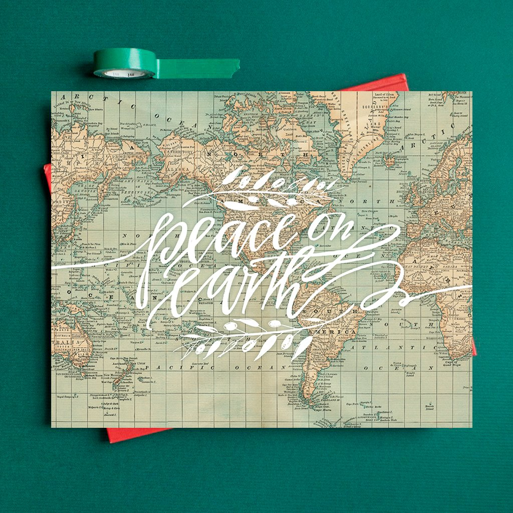 Peace On Earth Map