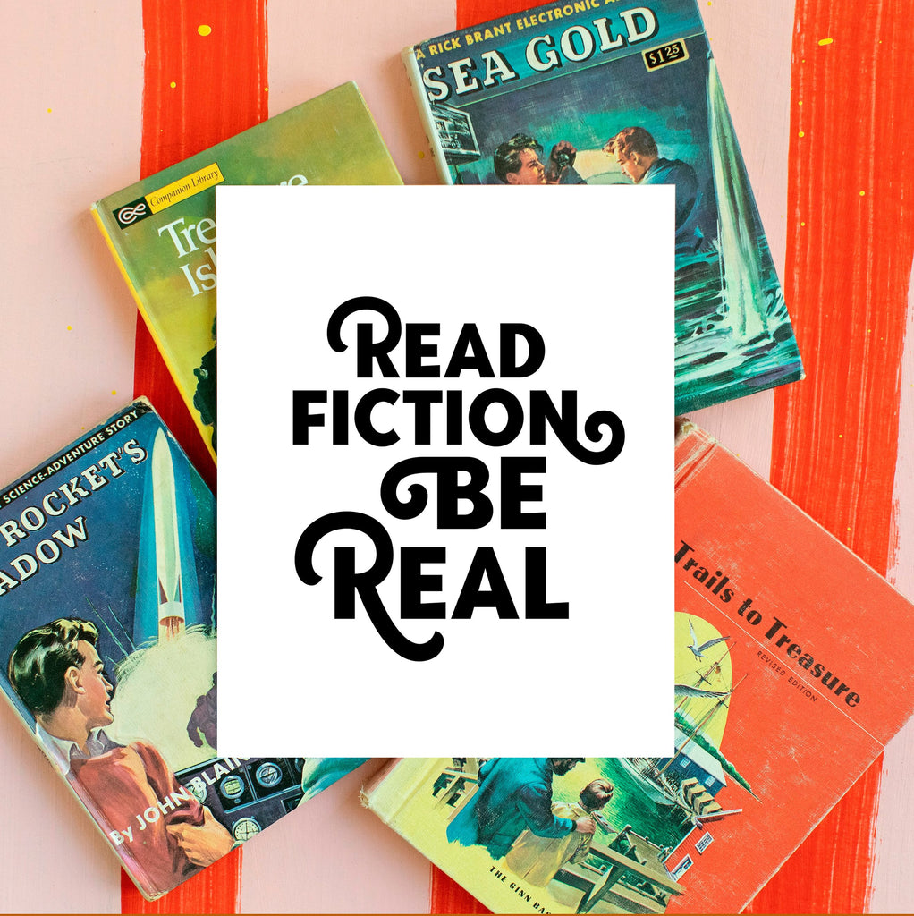 Read Fiction Be Real (Classic Black)