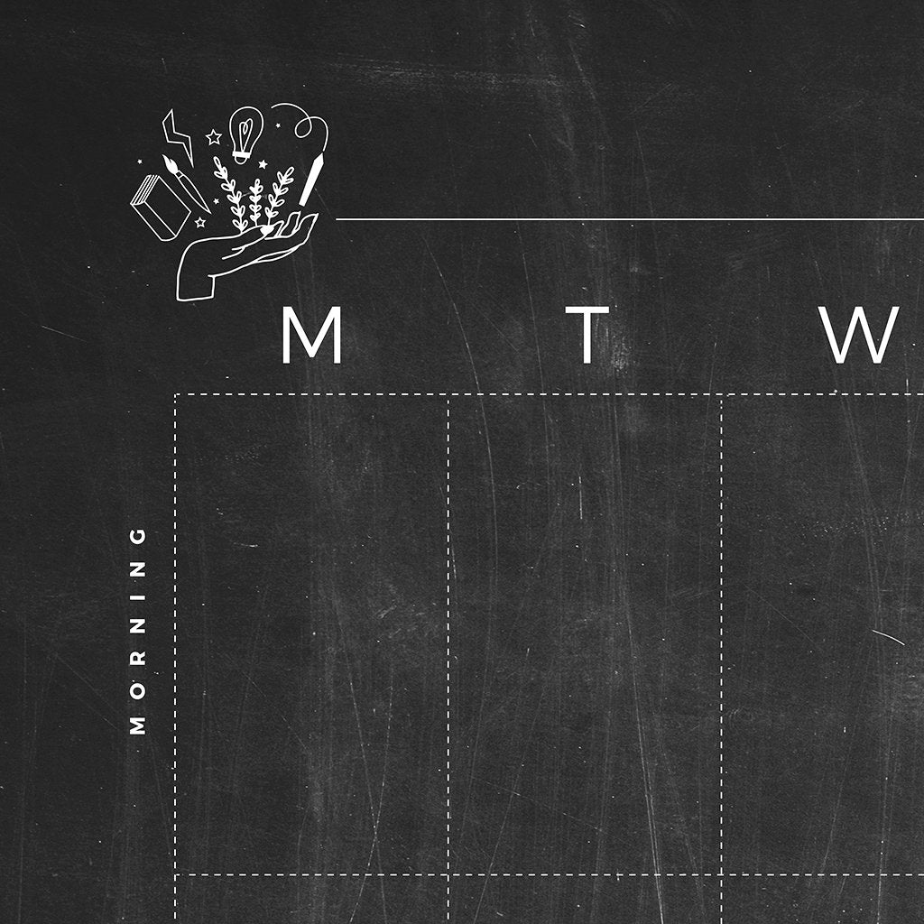 The Weekly Rhythm | Blackboard