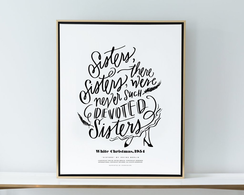 Sisters, Sisters, Boutique Canvas