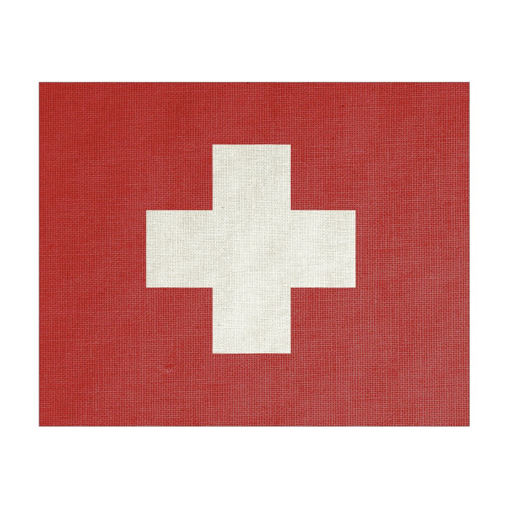 Swiss Flag, Gift Canvas