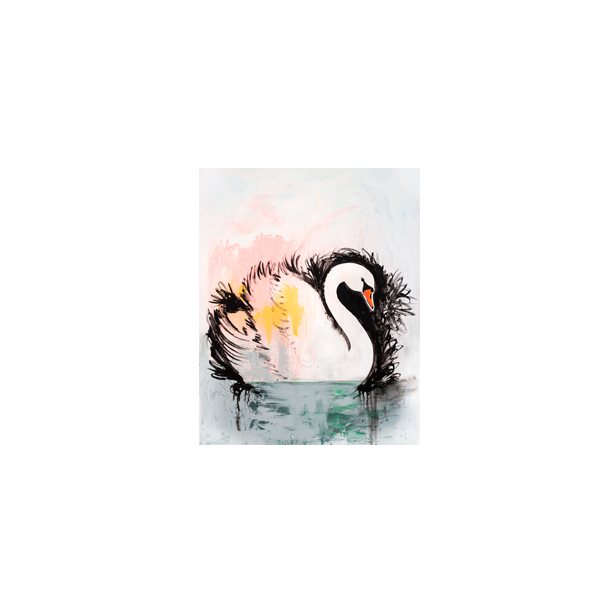 Swan Lake Abstract