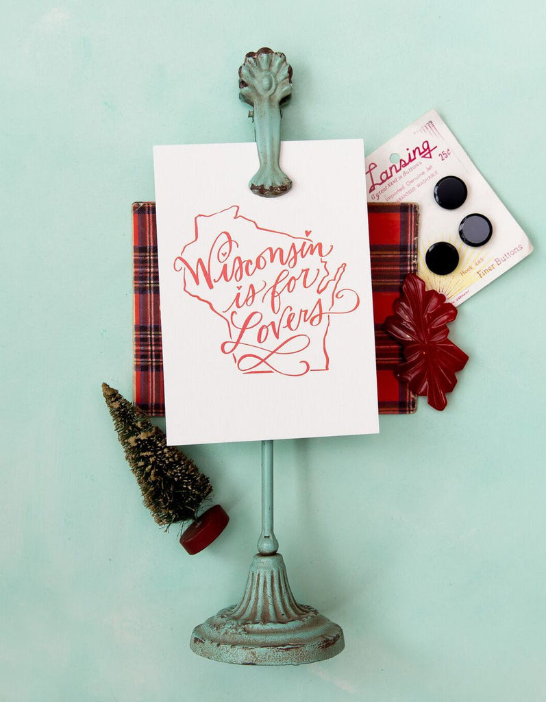 Wisconsin is for Lovers Postcard Set