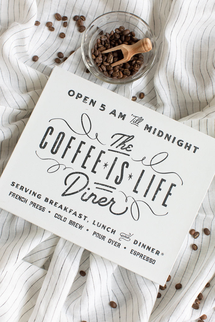 "The ""Coffee Is Life"" Diner"